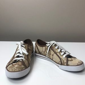 Coach Dee Size 10B Casual Lace Up Sneakers